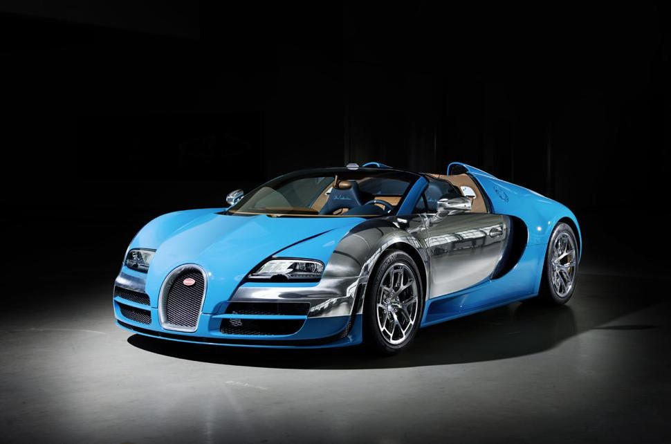 Bugatti Veyron Limited Edition Meo Constantini Legend Car 01