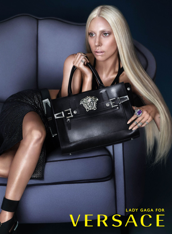 Lady Gaga for Versace Spring Summer 2014 Ad Campaign 02