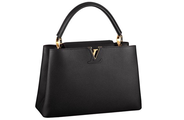 Louis Vuitton Capucine Bag Black