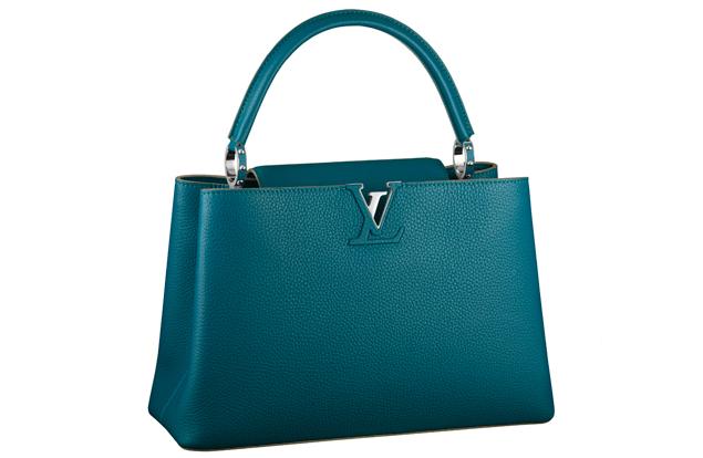 Louis Vuitton Capucine Bag Green