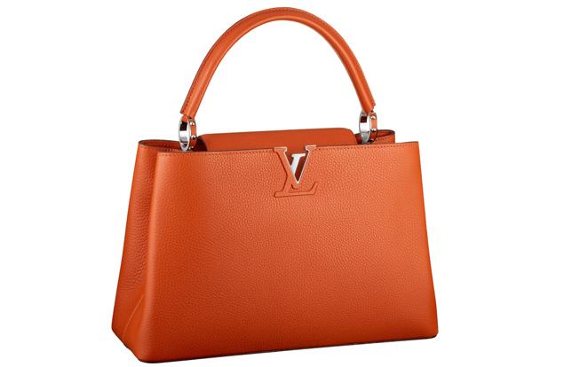 Louis Vuitton Capucine Bag Orange