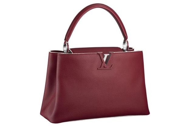 Louis Vuitton Capucine Bag Red