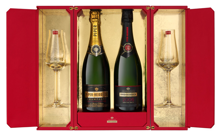 Piper Heidsieck and Baccarat Gift Box