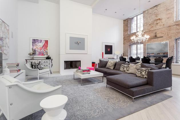 Lovely Tribeca New York 3 Bedroom Luxury Apartment For Rent 01