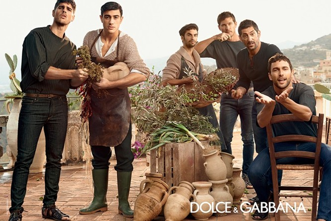 Dolce & Gabbana Spring 2014 Menswear Campaign 01