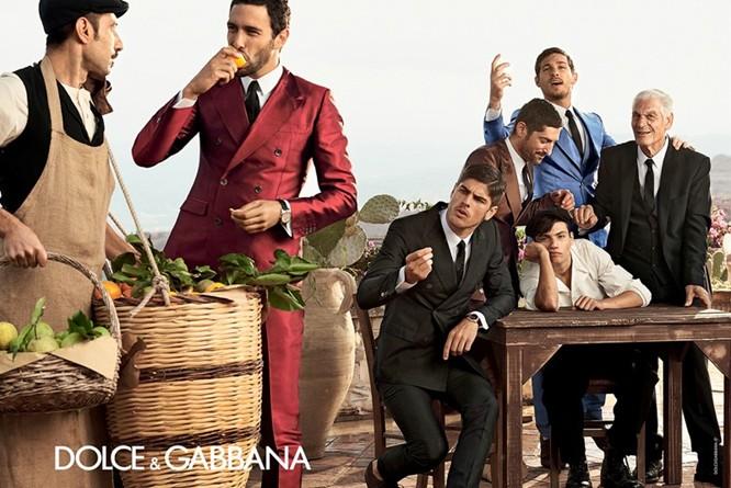 Dolce & Gabbana Spring 2014 Menswear Campaign 03