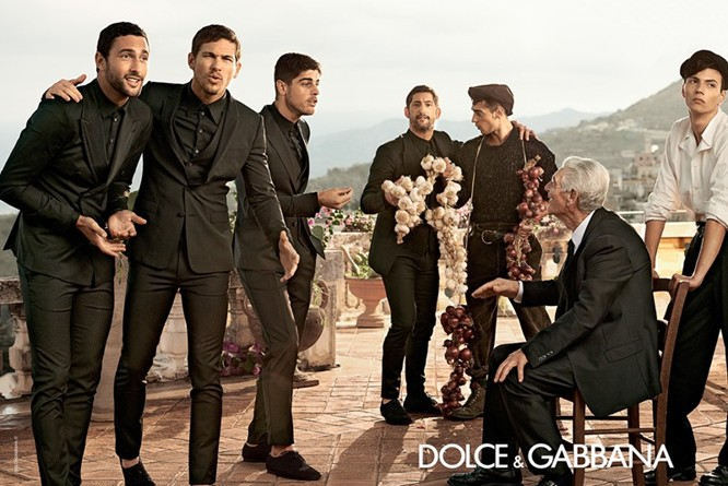 Dolce & Gabbana Spring 2014 Menswear Campaign 04