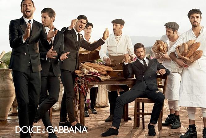 Dolce & Gabbana Spring 2014 Menswear Campaign 05