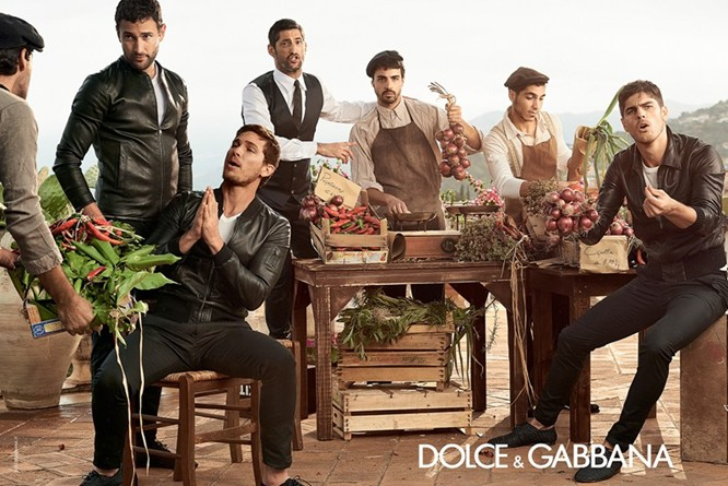 Dolce & Gabbana Spring 2014 Menswear Campaign 06