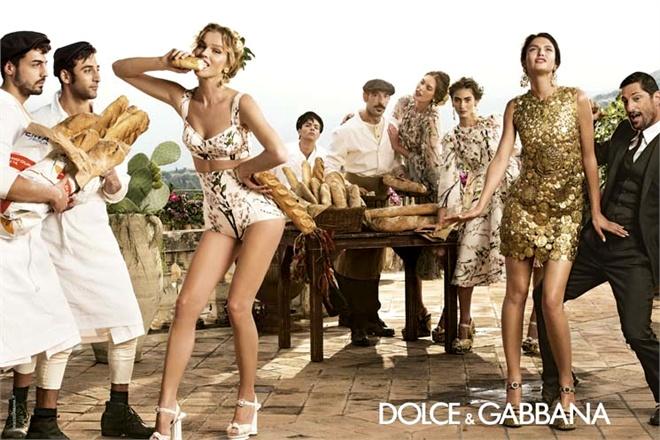 Dolce & Gabbana Spring 2014 Menswear Campaign 08