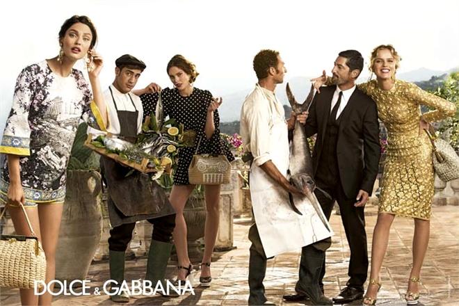 Dolce & Gabbana Spring 2014 Menswear Campaign 09