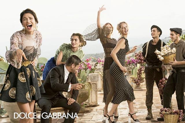 Dolce & Gabbana Spring 2014 Menswear Campaign 12