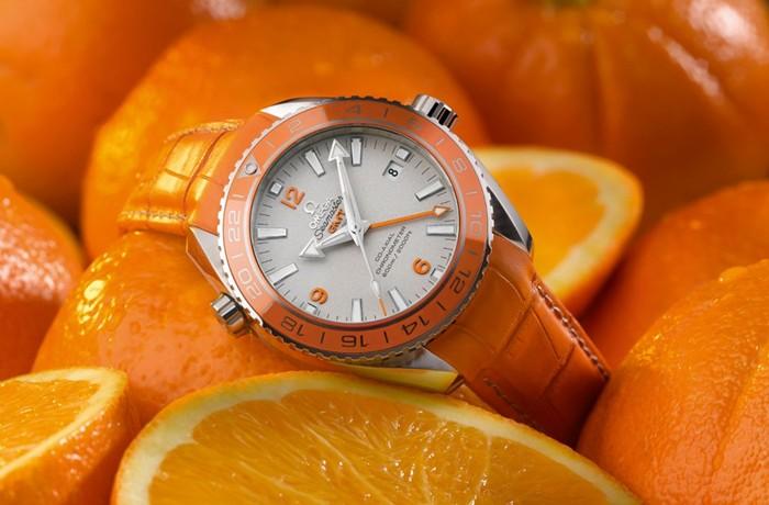 Omega Seamaster Planet Ocean Orange Ceramic Watch 02