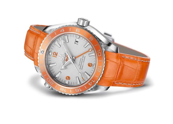 Omega Seamaster Planet Ocean Orange Ceramic Watch 03