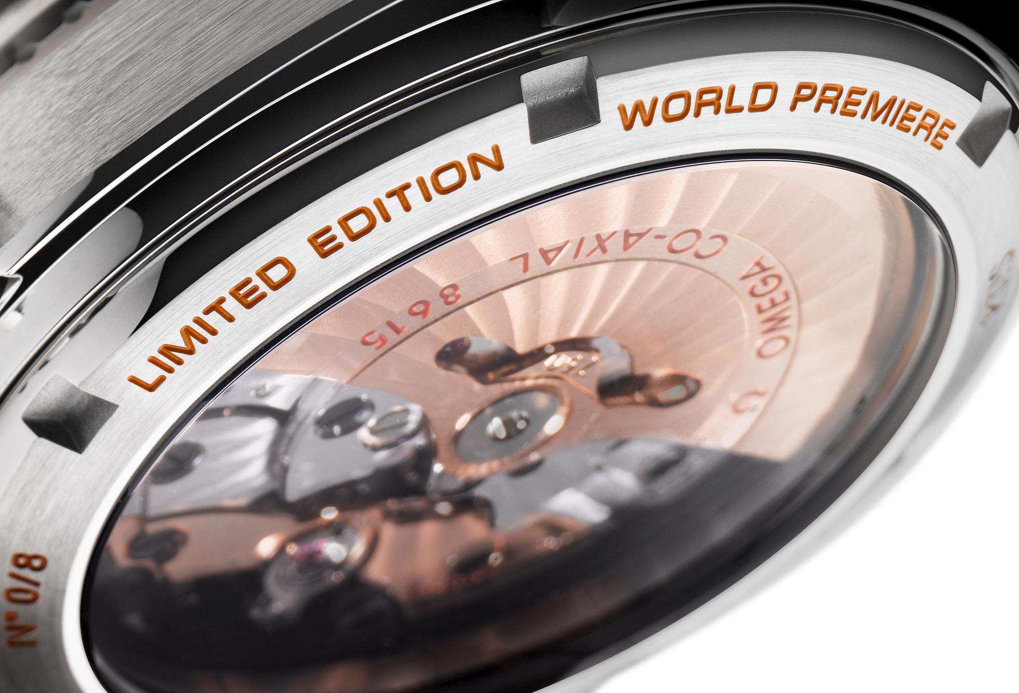 Omega Seamaster Planet Ocean Orange Ceramic Watch 04
