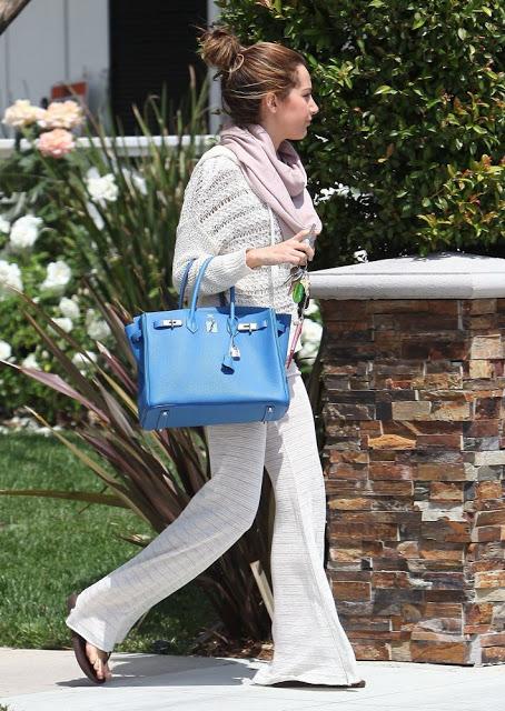 Ashley Tisdale Hermes Birkin Bag