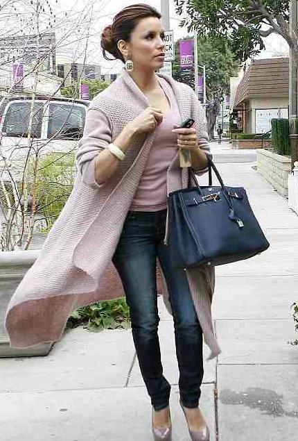 Eva Longoria Hermes Birkin Bag