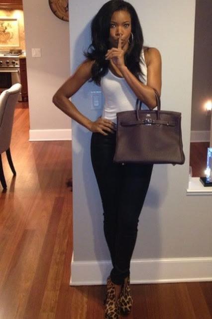 Gabrielle Union Hermes Birkin Bag