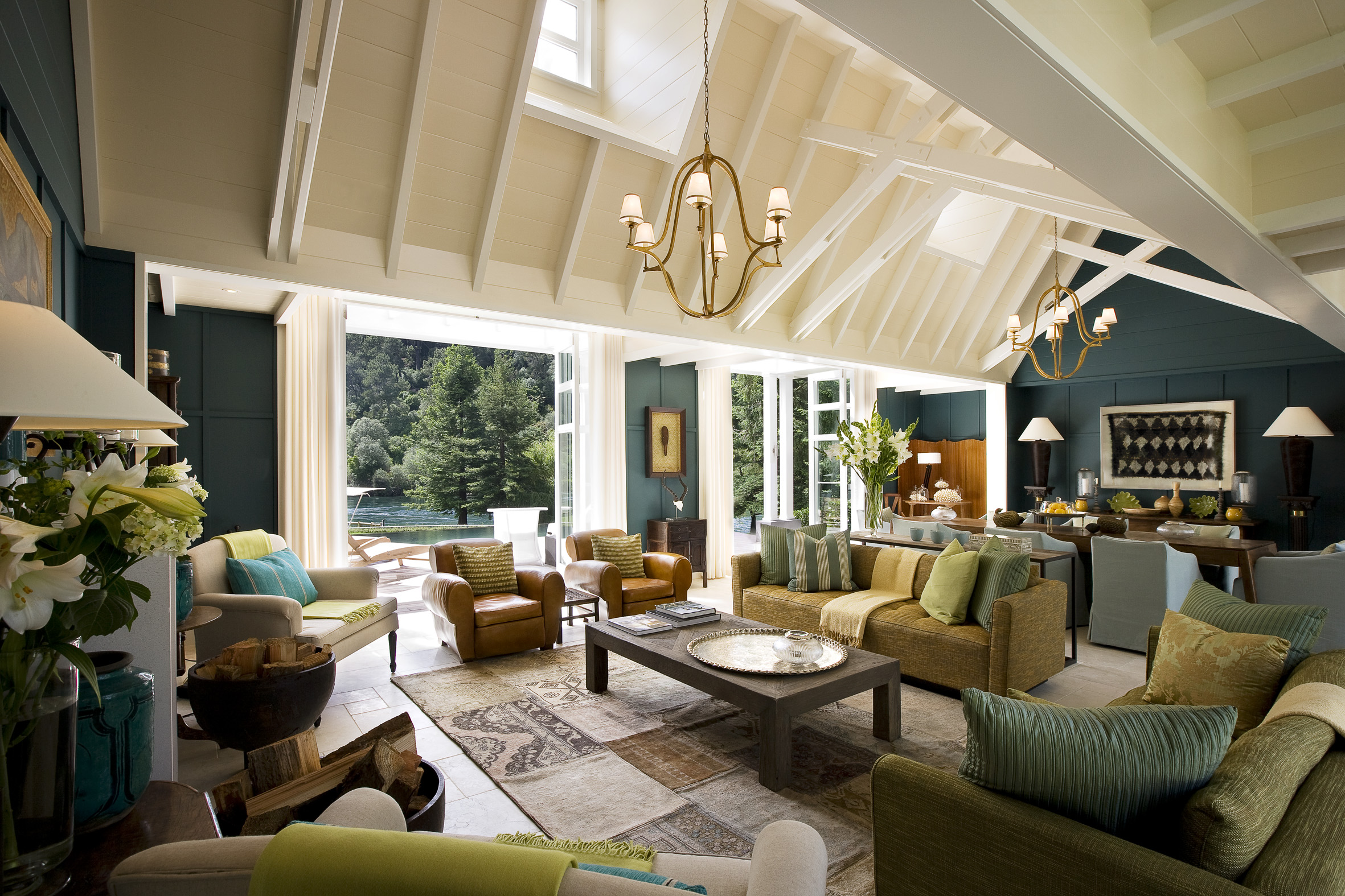 Escape at the huka lodge in new zealand blog purentonline for Luxury home design nz