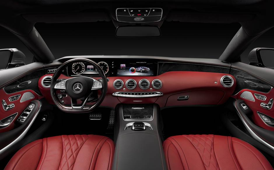 Mercedes Benz S-Class Coupe 2014 picture 03