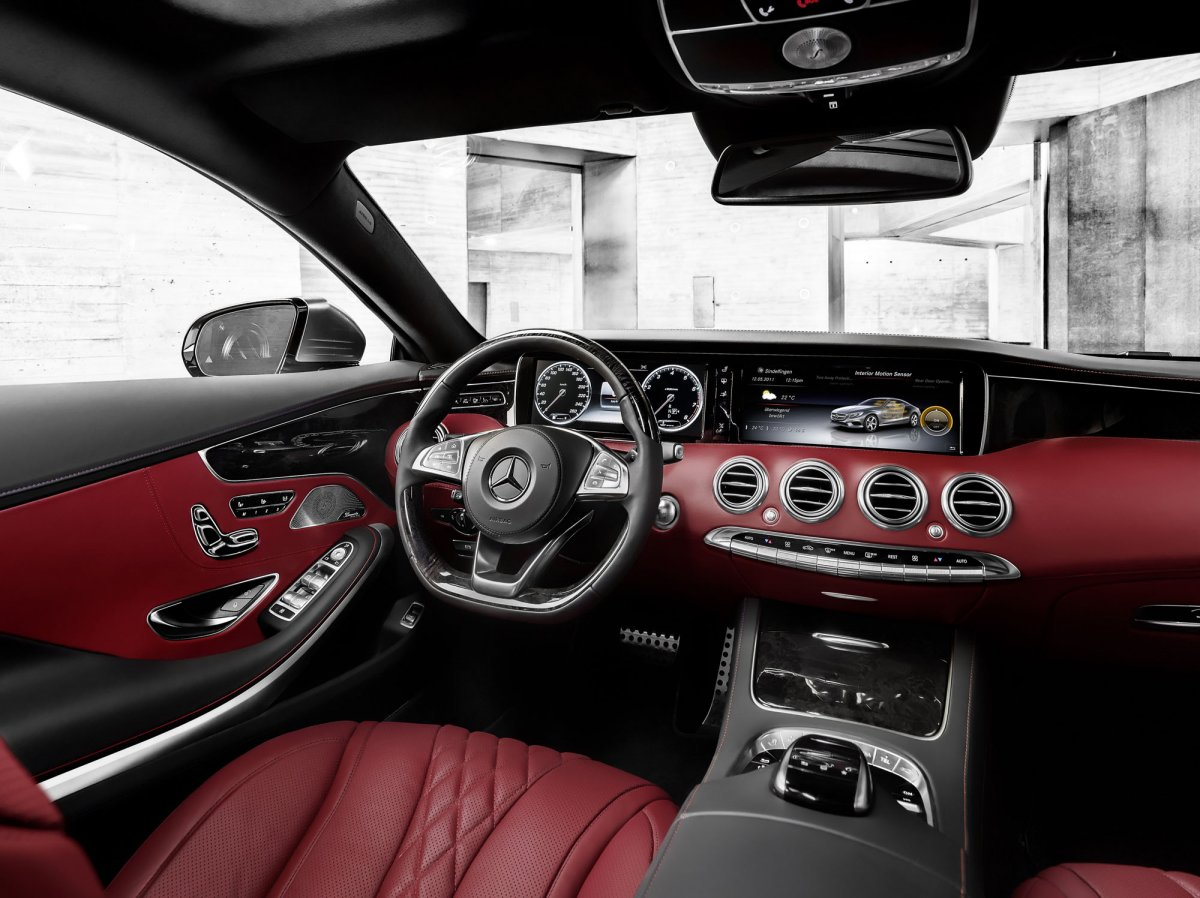 Mercedes Benz S-Class Coupe 2014 picture 05