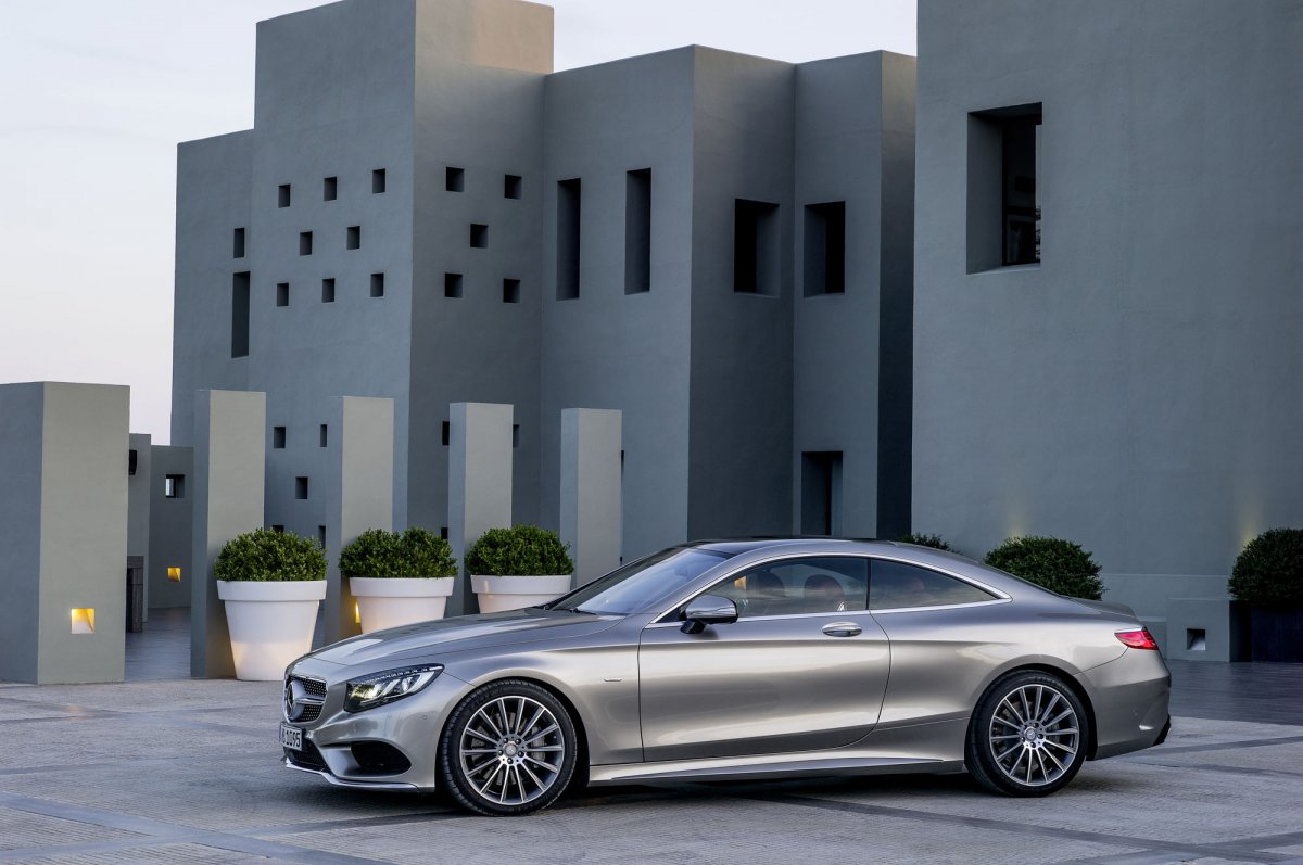 Mercedes Benz S-Class Coupe 2014 picture 08