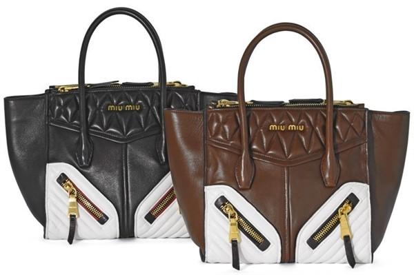 The new Miu Miu Biker Bags 01