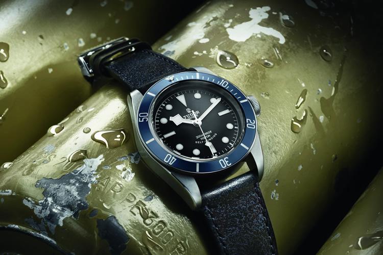Tudor Heritage Black Bay Midnight Blue Baselworld 2014