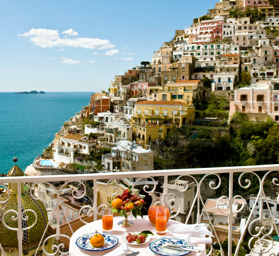 Luxury boutique hotel le sirenuse in positano blog for Designer hotels italien
