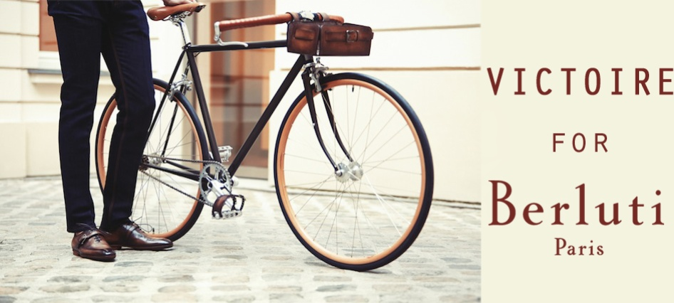 Cycles Victoire Bicycle for Berluti Paris