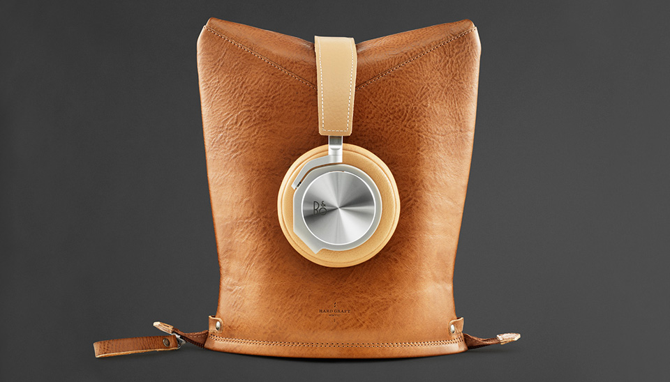 Hard Graft Beoplay leather goods for Bang & Olufsen hardware 06