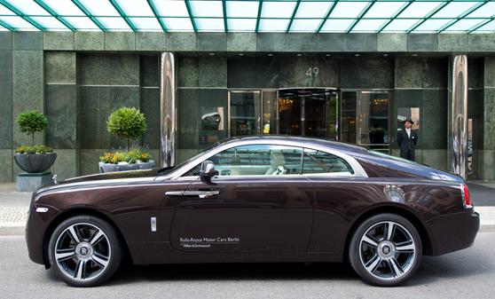 Regent Berlin Hotel Rolls Royce Wraith