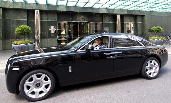 Regent Berlin Hotel Rolls Royce