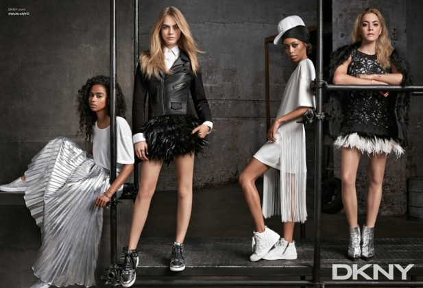 Cara Delevingne for DKNY Resort 2015 Ad Campaign 02