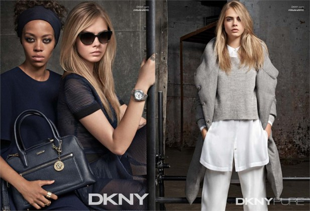 Cara Delevingne for DKNY Resort 2015 Ad Campaign 03