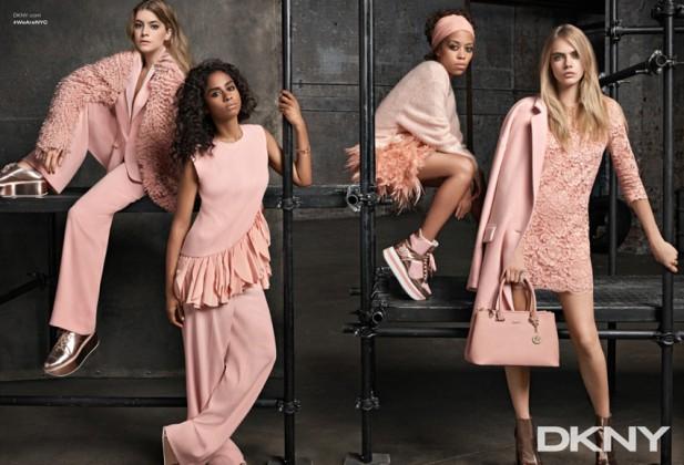 Cara Delevingne for DKNY Resort 2015 Ad Campaign 04