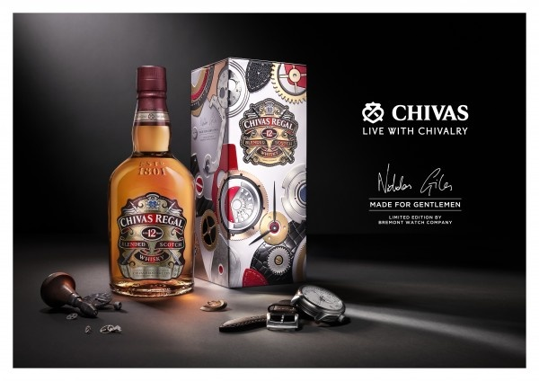 Chivas 12 Made for Gentlemen by Bremont pic 01