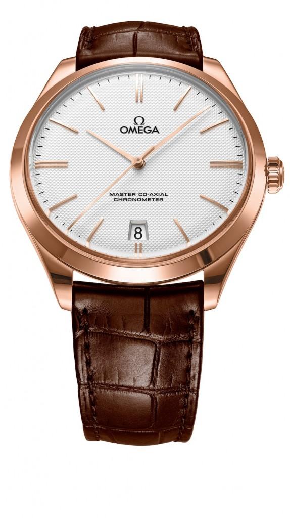 Omega De Ville Tresor Sedna Gold Watch