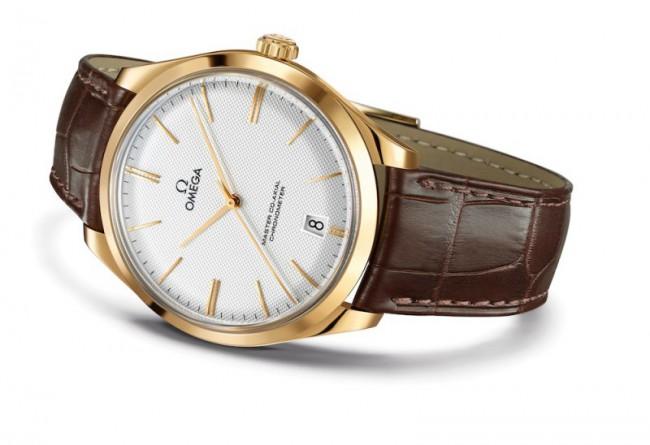 Omega De Ville Tresor Yellow Gold Watch 01