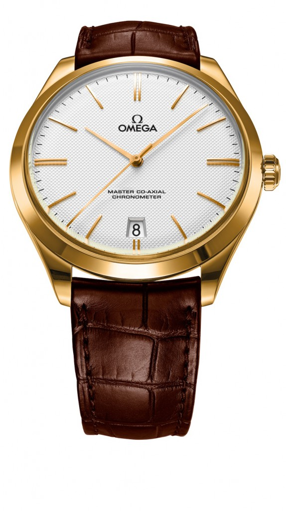 Omega De Ville Tresor Yellow Gold Watch