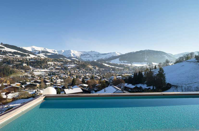 Ultra luxurious chalet Mont Blanc in Megeve France 02