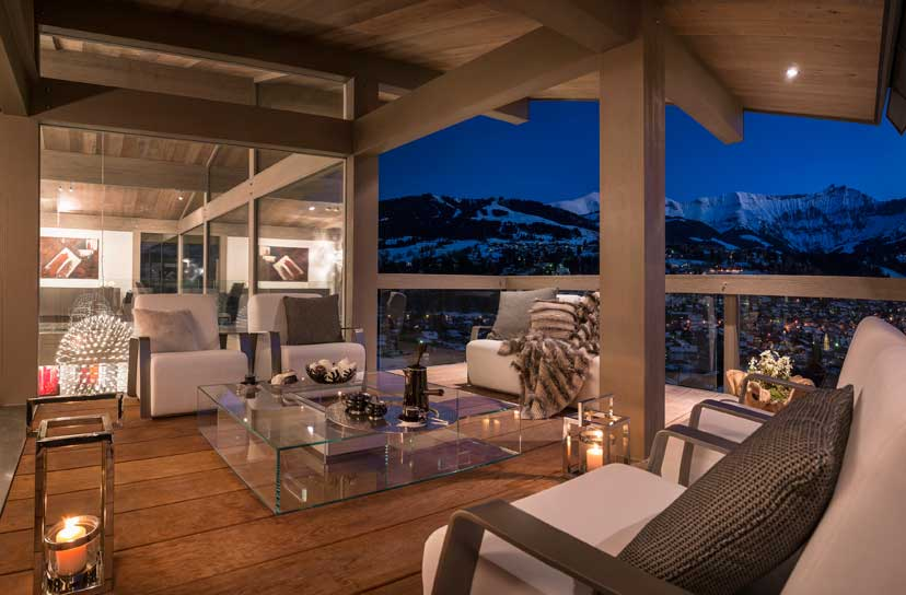 Ultra luxurious chalet Mont Blanc in Megeve France 03