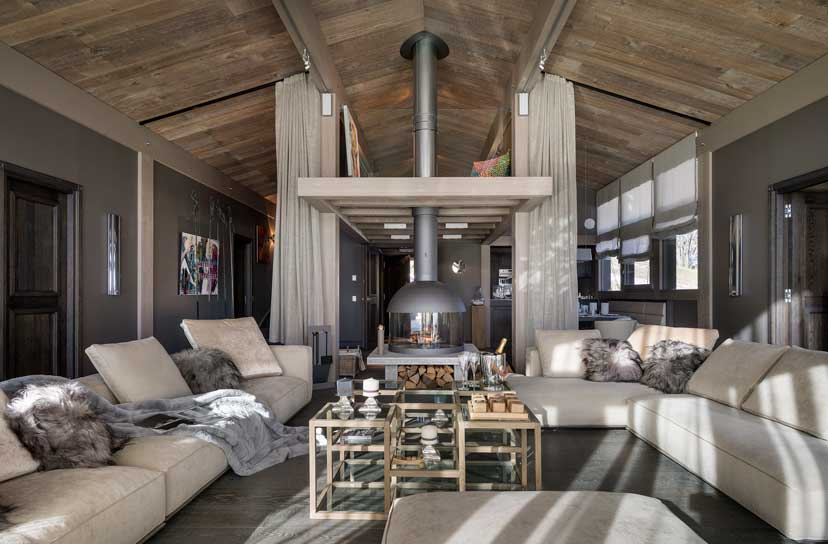 Ultra luxurious chalet Mont Blanc in Megeve France 04