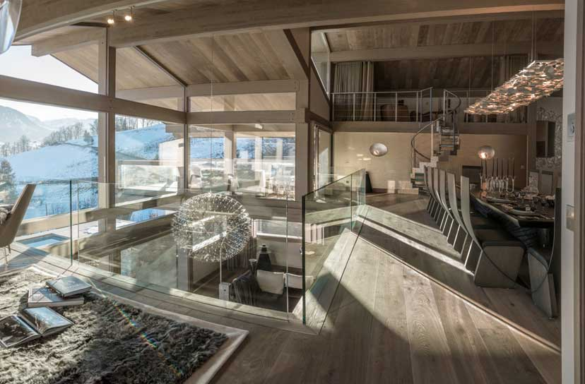 Ultra luxurious chalet Mont Blanc in Megeve France 05
