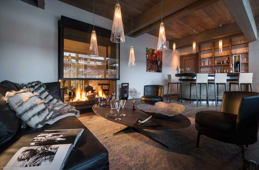 Ultra luxurious chalet Mont Blanc in Megeve France 06
