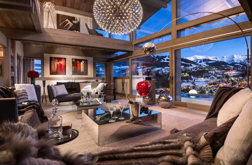 Ultra luxurious chalet Mont Blanc in Megeve France 07