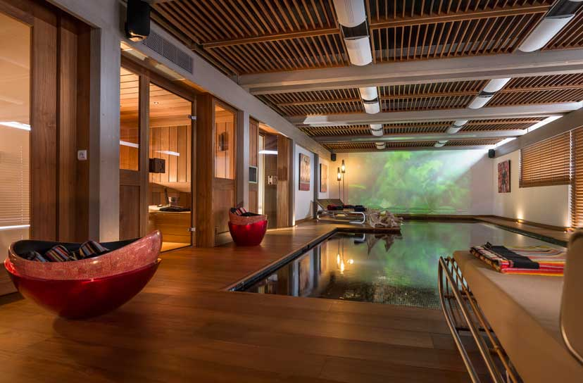 Ultra luxurious chalet Mont Blanc in Megeve France 10