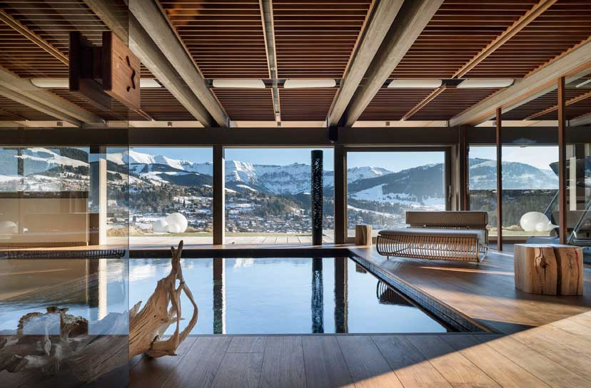 Ultra luxurious chalet Mont Blanc in Megeve France 11