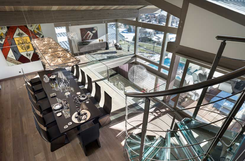 Ultra luxurious chalet Mont Blanc in Megeve France 18
