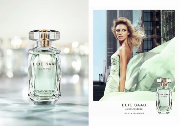 Anja Rubik for Elie Saab Le Parfum L'Eau Couture